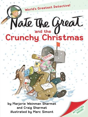 cover image of Nate the Great and the Crunchy Christmas