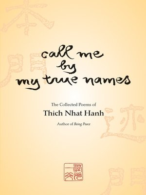 cover image of Call Me by My True Names