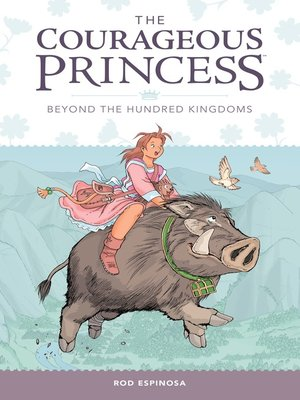 cover image of The Courageous Princess (2015), Volume 1