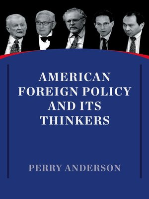 cover image of American Foreign Policy and Its Thinkers