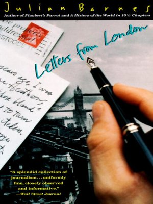 cover image of Letters from London