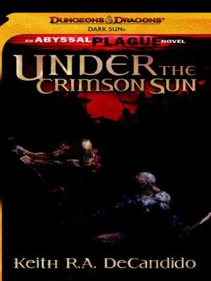 cover image of Under the Crimson Sun