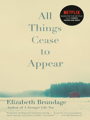 cover image of All Things Cease to Appear