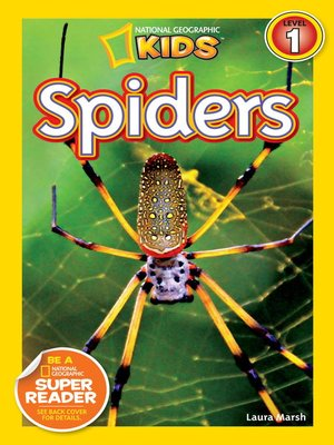 cover image of National Geographic Readers: Spiders