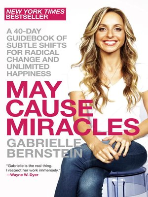 cover image of May Cause Miracles