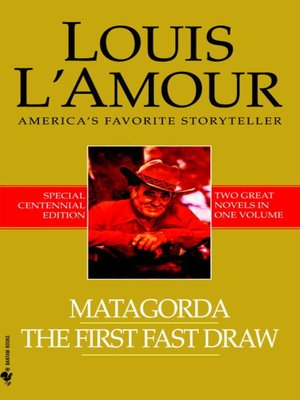 cover image of Matagorda/The First Fast Draw