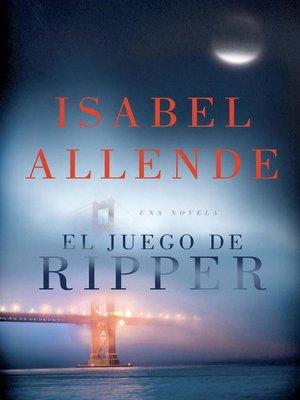 cover image of El juego de Ripper