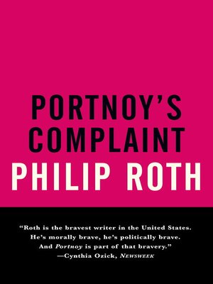 cover image of Portnoy's Complaint