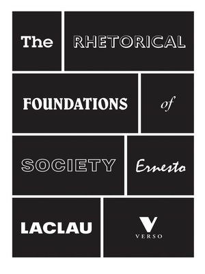 cover image of The Rhetorical Foundations of Society