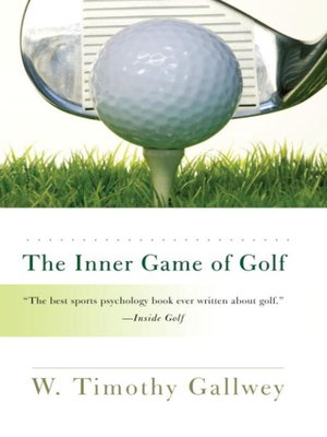cover image of The Inner Game of Golf
