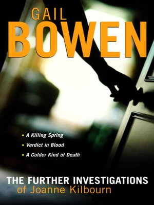cover image of The Joanne Kilbourn Mysteries 3-Book Bundle Volume 2