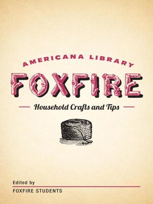 cover image of Household Crafts and Tips