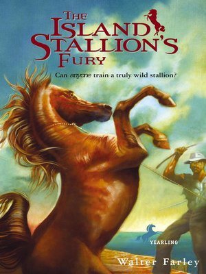 cover image of The Island Stallion's Fury