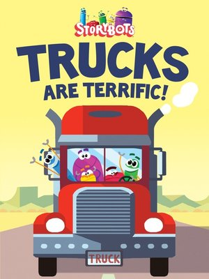 cover image of Trucks Are Terrific!