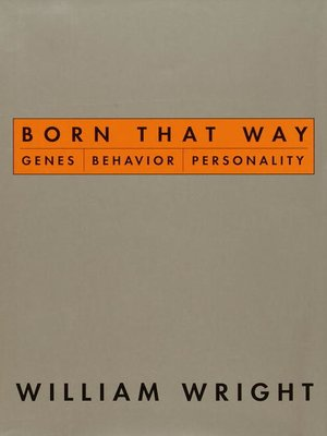 cover image of Born That Way