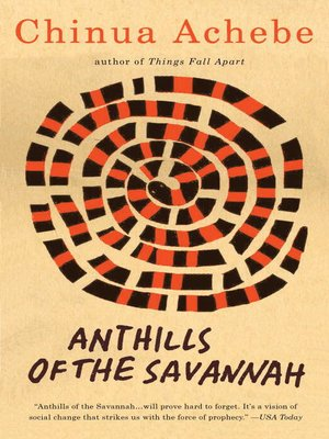 cover image of Anthills of the Savannah