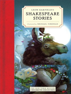 cover image of Leon Garfield's Shakespeare Stories