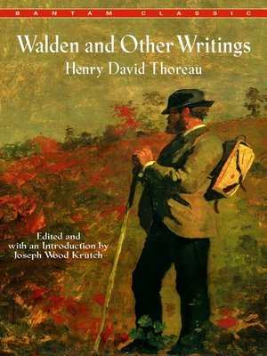 cover image of Walden and Other Writings