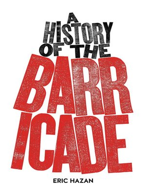cover image of A History of the Barricade