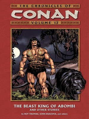 cover image of Chronicles of Conan, Volume 12
