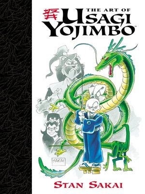 cover image of Art of Usagi Yojimbo