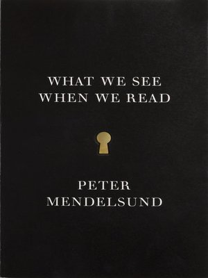 cover image of What We See When We Read