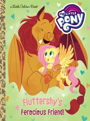 cover image of Fluttershy's Ferocious Friend! (My Little Pony)