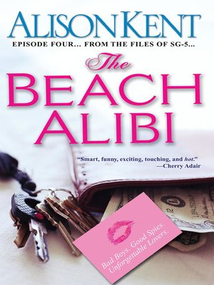 cover image of The Beach Alibi