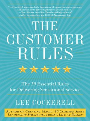 cover image of The Customer Rules