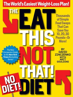 cover image of The Eat This, Not That! No-Diet Diet