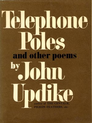 cover image of Telephone Poles and Other Poems