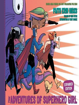 cover image of The Adventures of Superhero Girl