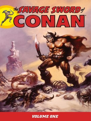 cover image of Savage Sword of Conan, Volume 1