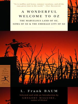 cover image of A Wonderful Welcome to Oz