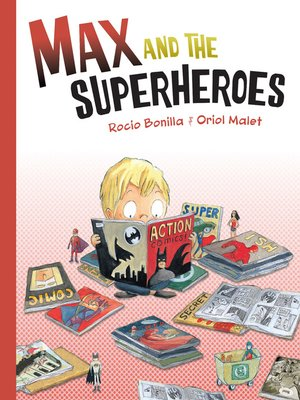 cover image of Max and the Superheroes