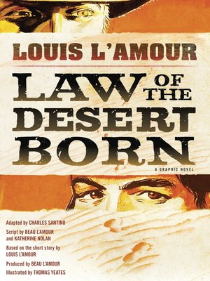 cover image of Law of the Desert Born (Graphic Novel)