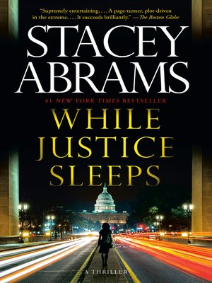 cover image of While Justice Sleeps