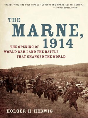 cover image of The Marne, 1914