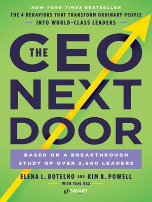 cover image of The CEO Next Door