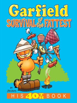 cover image of Garfield: Survival of the Fattest