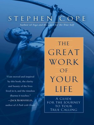 cover image of The Great Work of Your Life