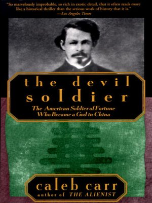 cover image of The Devil Soldier