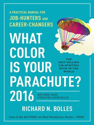 cover image of What Color Is Your Parachute? 2016