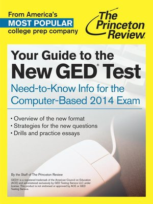 cover image of Your Guide to the New GED Test