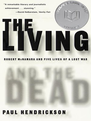 cover image of The Living and the Dead