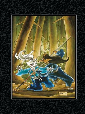 cover image of Usagi Yojimbo Saga, Volume 2