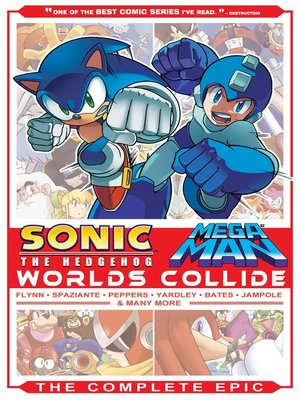 cover image of Sonic / Mega Man: Worlds Collide