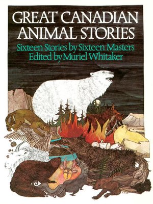 cover image of Great Canadian Animal Stories