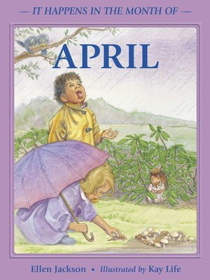 cover image of It Happens in the Month of April