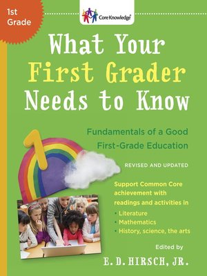 cover image of What Your First Grader Needs to Know (Revised and Updated)